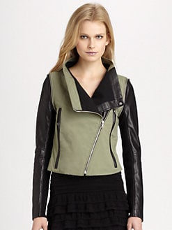 Cut 25 by Yigal Azrouel - Convertible Motorcycle Jacket