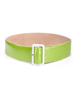 By Malene Birger - Wide Patent Leather Belt