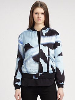 Surface To Air - Aaron Printed Silk Jacket