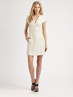 L'AGENCE - Tweed Shift Dress