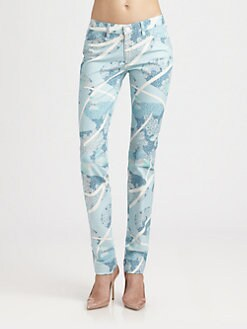 girl. by Band of Outsiders - Butterfly Daydream Skinny Jeans