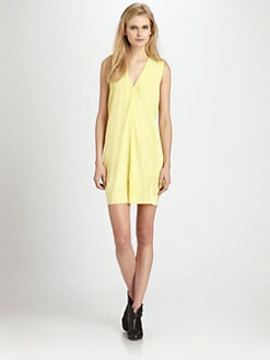 Cut 25 by Yigal Azrouel - Washed Crepe de Chine Dress