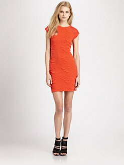 Cut 25 by Yigal Azrouel - Textured Jersey Knit Dress