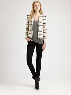 IRO - Elomi Zip-Front Jacket