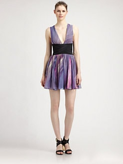 Elizabeth and James - Jana Swingy Silk Dress