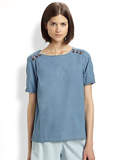 A.P.C. - Chambray Top