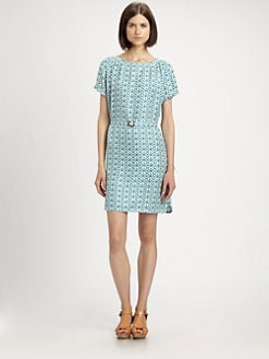 A.P.C. - Marilyn Silk Print Dress