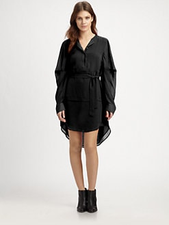 McQ Alexander McQueen - Silk Tunic Dress