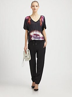 McQ Alexander McQueen - Lightning-Print Tee