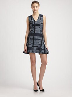 10 Crosby Derek Lam - Jacquard Tulip Dress
