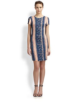 10 Crosby Derek Lam - Printed T-Shirt Dress