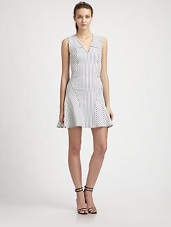 10 Crosby Derek Lam - Striped Tulip Dress