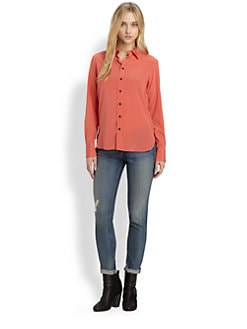 Rag & Bone - 88 Stretch-Silk Shirt