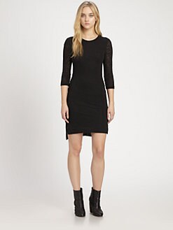Rag & Bone - Textured Knit Dress