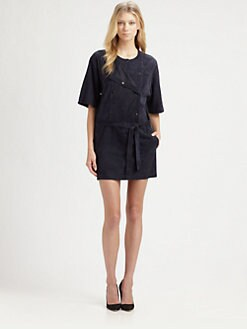 A.L.C. - Ulloa Suede Tunic Dress