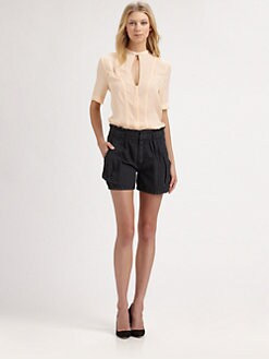 A.L.C. - Montgomery Washed Silk Blouse