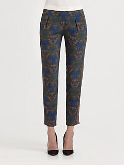 A.L.C. - Shibori Silk Pants