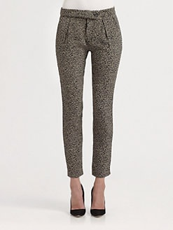 A.L.C. - Jasper Printed Silk Pants