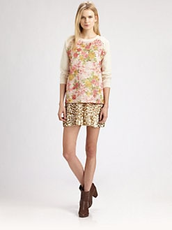 Roseanna - Printed Baseball Top