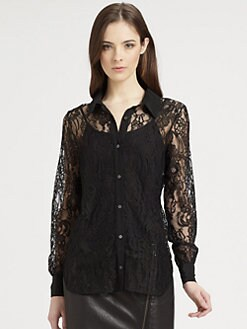 Haute Hippie - Lace Shirt
