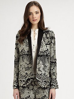 Haute Hippie - Embroidered Silk Jacket