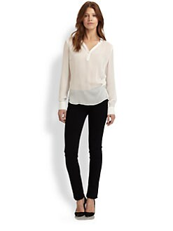 Elizabeth and James - Amandine Silk Blouse