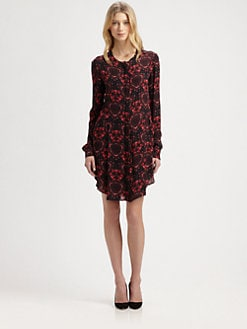 A.L.C. - Ingerson Silk Georgette Dress