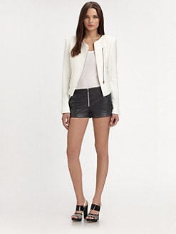 L'AGENCE - Satin Boucl&#233; Jacket