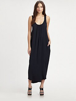 L'AGENCE - Cross-Back Column Dress