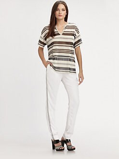 L'AGENCE - Striped Tee