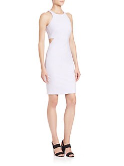 Elizabeth and James - Lela Cutout-Waist Dress