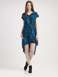 Surface To Air - Silk Print Dress