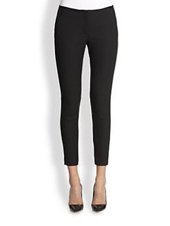 Elizabeth and James - Jessica Cropped Stretch Knit Skinny Pants