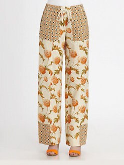 Suno - Wide-Leg Paneled Pants