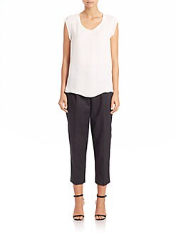 3.1 Phillip Lim - Silk Muscle Tee