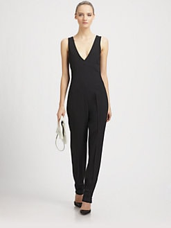 McQ Alexander McQueen - Tailored Wool Jumpsuit