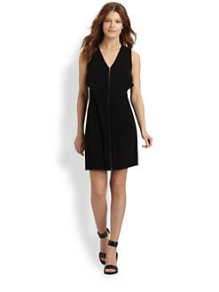 10 Crosby Derek Lam - Front Zip Panel Dress