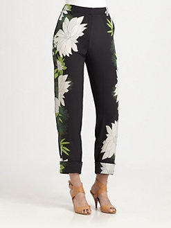 3.1 Phillip Lim - Floral-Print Silk Pants