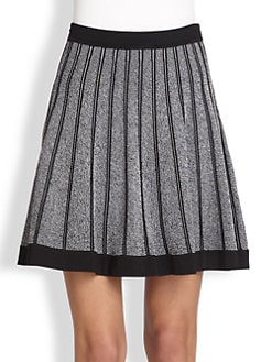 A.L.C. - West Pleated Stretch Knit Skirt