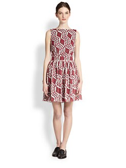 Thakoon Addition - Flared Low-Back Dress