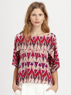 See by Chloe - Seamed Silk Blouse