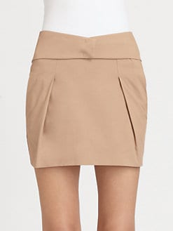 See by Chloe - Pleat-Front Mini Skirt