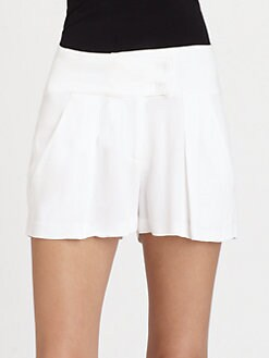 See by Chloe - Pleat-Front Shorts