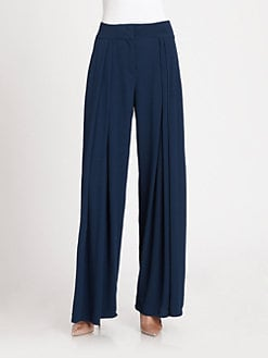 See by Chloe - Pleated Wide-Leg Pants