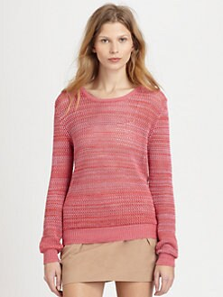See by Chloe - Mesh Stitched Sweater