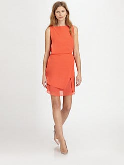 See by Chloe - Silk Chiffon Wrap Dress