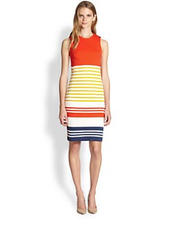 By Malene Birger - Striped Cotton Sheath Dress