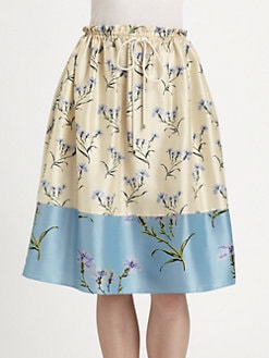 Suno - Floral Skirt