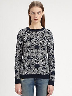 Suno - Raglan Crewneck Sweater