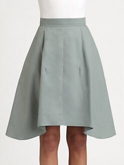 Carven - Cotton Poplin Skirt